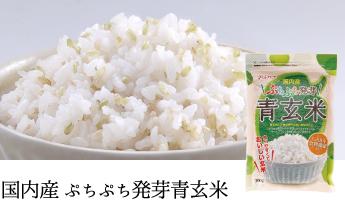 国内産ぷちぷち発芽青玄米
