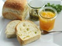 もちきびと青大豆のミルクパン