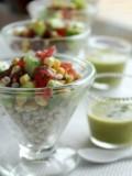 丸麦の夏サラダ