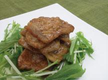 豚肉のさっぱり黒酢炒め