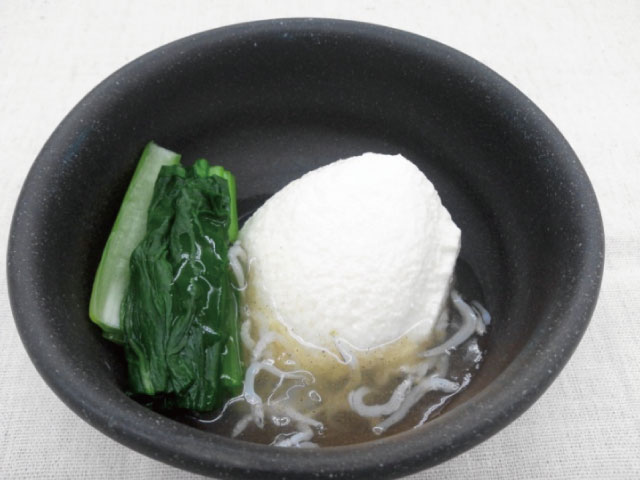 小松菜と豆腐のしらすあんかけ640×480